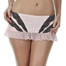 Jezebel Felina Amanda Pink Black Flirt Skirt 69004