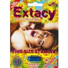 Extacy No Headache Triple Maximum Premium 2750pwr 7 Days Enahncement for Men Pill by SX Power Co