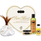 Kamasutra Pure Heart Sensual Body Treats Lovers Massage Kit