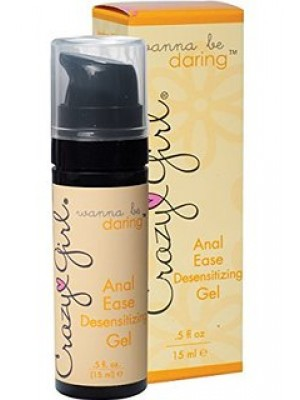 Crazy Girl Wanna Be Daring Anal Ease Desensitizing Gel .5 oz