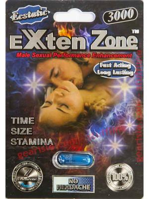 Exten Zone Ecstatic 3000 Pill Male Sexual Enhancer