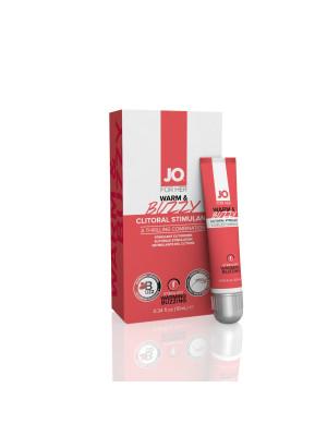 System Jo Warm & Buzzy Clitoral Stimulant For Her 0.34 Oz