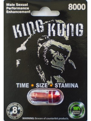King Kung 8000 Male Sexual Performance Enhancement Red Pill