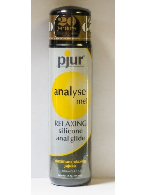 Analyse Me Pjur Comfort Water Based Anal Glide Lubricant 3.4 Oz