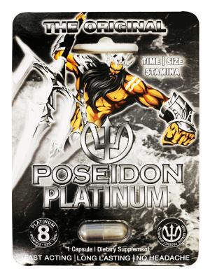 Poseidon Platinum 8 Sexual Dietary Supplement Pill