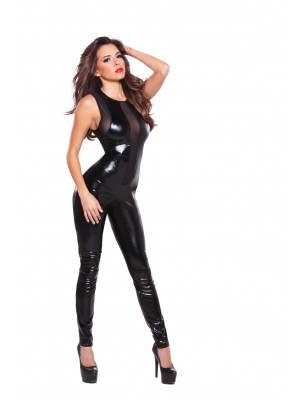 Wetlook Mesh Catsuit Kitten-Boxed 10-1152K