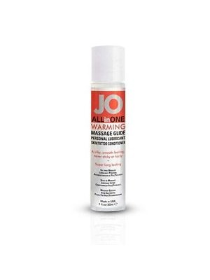 Jo All in One Warming Massage Glide Personal Lubricant 1 oz