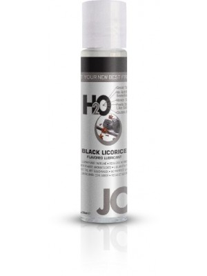 Jo H2O Black Licorice Flavered Lubricant 1 fl.oz/ 30ml Travel Size