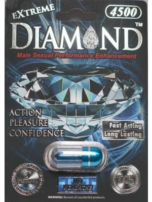 Diamond Platinum Extreme 4500 Blue Male Enhancement Supplement