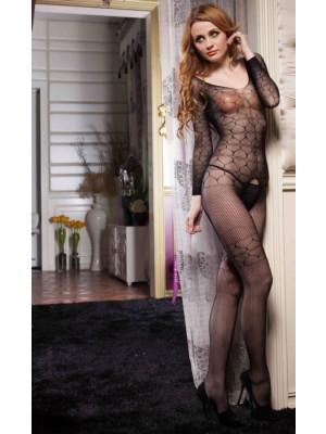 Lady's Keller Legs Fishnet Body Stocking 818JT060 Yelete Group Lingerie