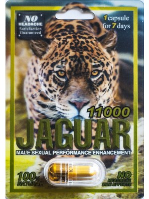 Jaguar 11000 Male Sexual Enhancer Pill For 7 Days No Headache