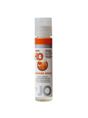 New H2O Jo Tangerine Dream Flavored Lubricant 1 fl.oz/ 30ml Travel Size
