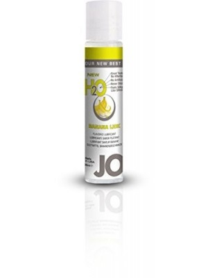 Jo H2O Juicy Banana Lick Lubricant 1 fl.oz/ 30ml Travel Size