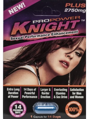 Pro Power Knight Plus 2750mg Sexual Performance Enhancement 1 pill
