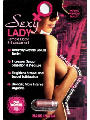 Sexy Lady Female Libido Enhancement Pill