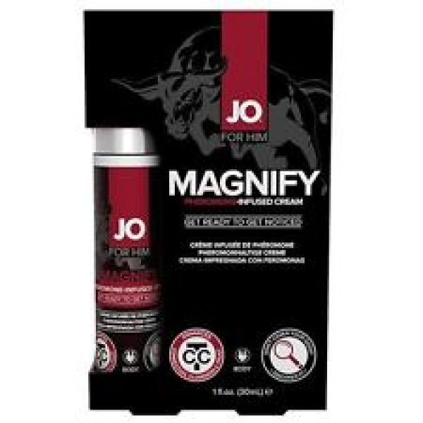JO Magnify Pheromones For Men Sexual Attraction Booster Cream