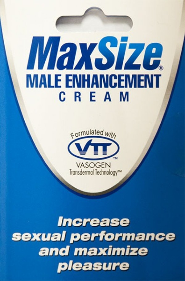 MaxSize Male Enhancement Cream by M.D. Science Lab, LLC.