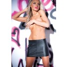 Faux Leather Wild Child Skirt 13-8402
