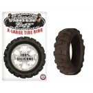 Cock Ring Silicone X Large Tire Black Mack Tuff