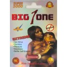 Big 1 One Super 5000 Male Sexual Enhancer Pill No Headache