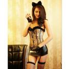 Sexy Cat Girl Costume 8527