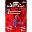 Coochy Caterpillar Vibrating Pleasure Ring