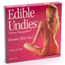 Edible Undies Dessous Mangeables Sensuous With Taste Passion Fruit