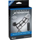 Vibrating Deluxe Silicone Power Cage Fantasy X-tensions