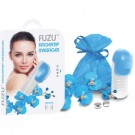 Fuzu Fingertip Massager Vibrating Blue 100% Silicone