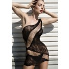 Lady's Keller Legs Fishnet Body Stocking 818JT073 Yelete Group Lingerie