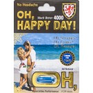 Oh Happy Day 3000 7 Days For Men Natural Libido Enhancer 3000mg 1 Pill Capsule by Love & Love Inc