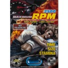 Maximum RPM Libimax 2500 Male Sexual Enhancer Pill