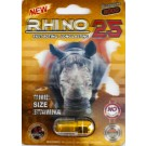 Rhino 25 Titanium 8000 Male Sexual Performance Enhancer 1 Pill 3D