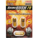 Rhino Rush 70 Trio 13000 Male Sexual Enhancer Pill