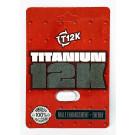 Titanium 12K Male Enhancement Energy Supplement