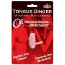 Tongue Dinger Vibrating Tongue Ring (magenta)