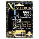 Xcalibur Black 5000 Male Sexual Performance Enhancement Pill