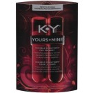 K-Y Brand Yours+Mine Couples Kissable Sensations Strawberry + Chocolate by Body Action Products
