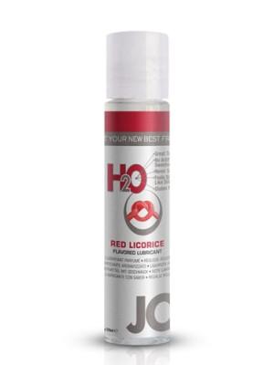 JO H2O Red Licorice Flavered Lubricant 1 fl.oz/ 30ml Travel Size