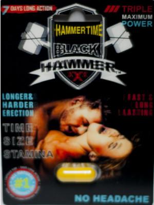 Black Hammer Triple Maximum Power Male Enhancer Yellow Pill