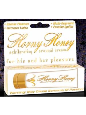Horny Honey Stimulating Exhilarating Arousal Cream 1.0 Oz by