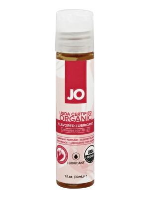 System Jo Certified Organic Flavored Lubricant Strawberry Fields 1 Oz