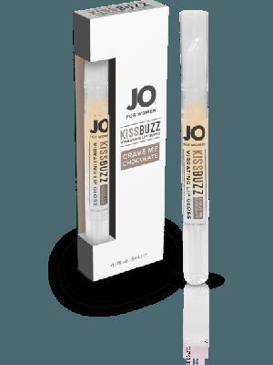 Jo For Women Kissbuzz Crave in Chocolate Vibrating Lip Gloss 0.04 Fl Oz