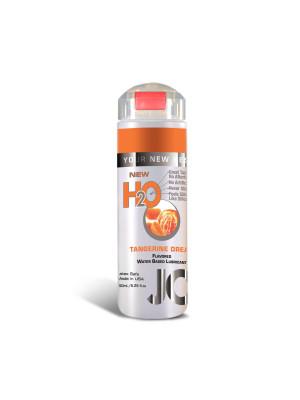System Jo H2O Tangerine Dream Flavored Lubricant Latex Safe  5.25Oz