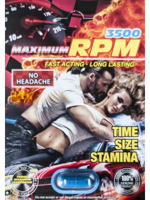 Maximum RPM Libimax 3500 Male Sexual Enhancer Pill