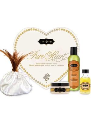 Kamasutra Pure Heart Sensual Body Treats Lovers Massage Kit