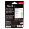 Beast 41000mg Natural Formula Male Enhancement Gold Pill Back