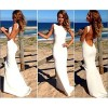 Women Long Sexy Backless Bodycon Sleeveless Evening Cocktail Prom Party Dress