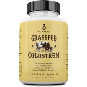 Ancestral Supplements Grass Fed Colostrum