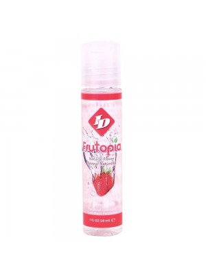 ID Frutopia Natural Flavor Strawberry Personal Lubricant 1 fl oz